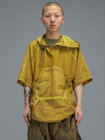 PYRAMID POCKET SWEATER / WB HOODIE - SULPHUR