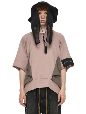 MAGNET POCKET OVERSIZED PULLOVER