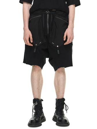 REINFORCED CONCEALED LAYERED SHORTS
