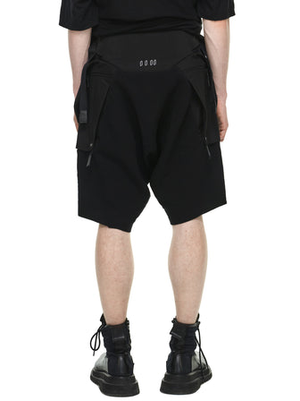 CONCEALED LAYERED POCKET SHORTS