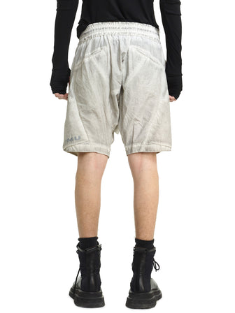 GEO-PANEL BRIEF SHORTS - HAMCUS