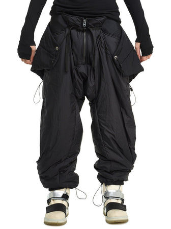 Manta Reflective quilted snow pants