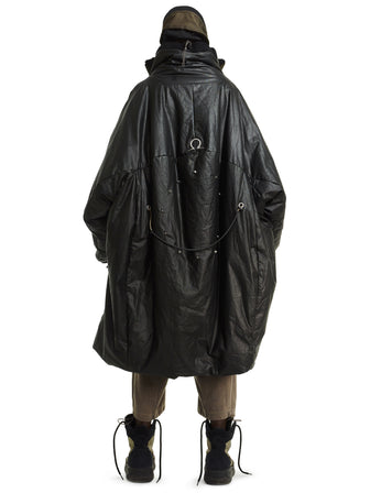 Ghost of the offworld Antique pyra collar oversized coat