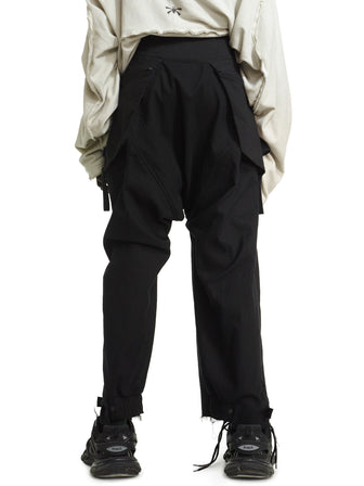 MANTA / LAYERED POCKET PANTS