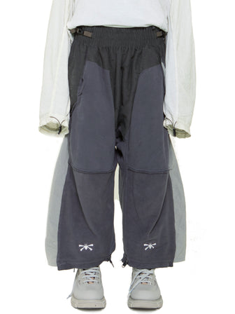 CONTRAST PANEL LOUNGE PANTS