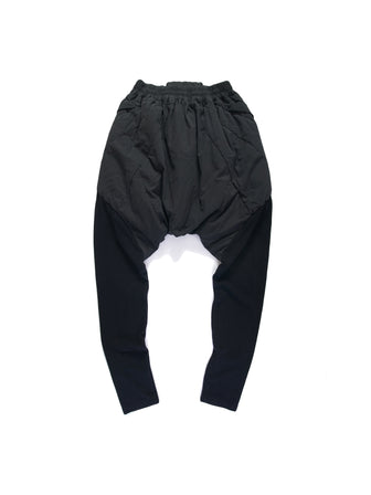GEO-CUT KNITTED CALF PADDED PANTS