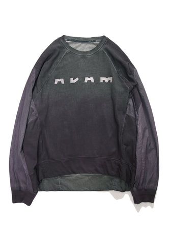 """ADAM"" WINDBREAKER SLEEVES PULLOVER -GRADIENT DYED - HAMCUS"