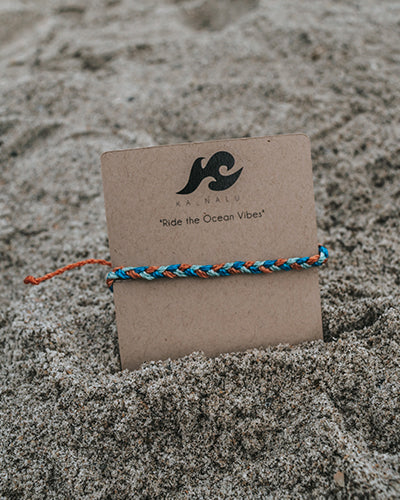 Dolphin Thin Braided Bracelet