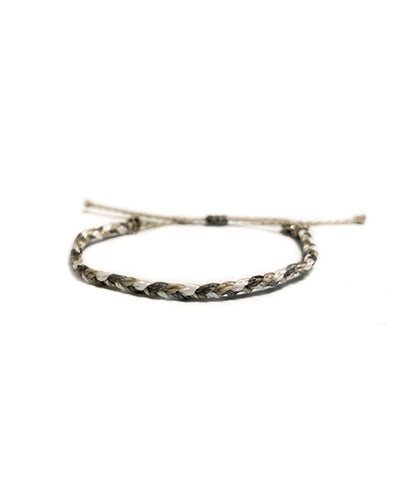 Snail Thin Braided Bracelet