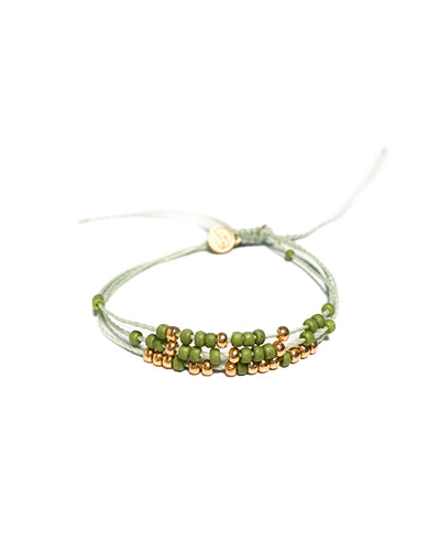 Coconut Thread Anklet