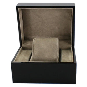 Simple Watch Keepsake Box-Portable Travel Watch Case-13.5*11*8 cm - Boxes - Timberack - timberack.com