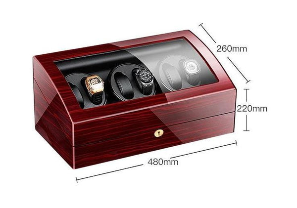 Luxury Spinning Watch Display Box-Automatic Winder Box-480*260*220 mm - Boxes - Timberack - timberack.com