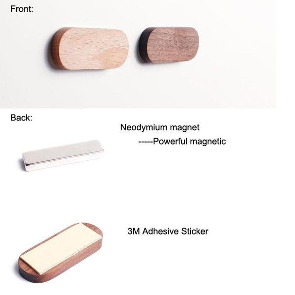 Magnetic Key Storage Rack-Strip Organizer-Small, Medium, Large - Wall Accessories - Timberack - timberack.com