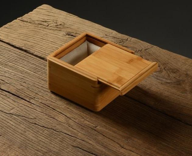 Bamboo Sliding Lid Keepsake Storage Boxes-Internal Liners-Multiple Sizes - Boxes - Timberack - timberack.com