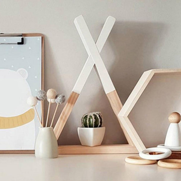 Triangle Storage Shelf-Decorative Rack-23*39 cm - Wall Accessories - Timberack - timberack.com