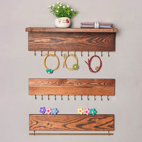 Wall Mounted Jewelry Display Organizers-Jewelry Racks-3 Pieces - Racks - Timberack - timberack.com