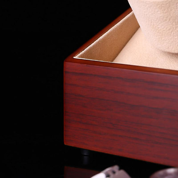 Luxury Spinning Watch Display Box-Automatic Winder Box-12*12*16.5 cm - Boxes - Timberack - timberack.com