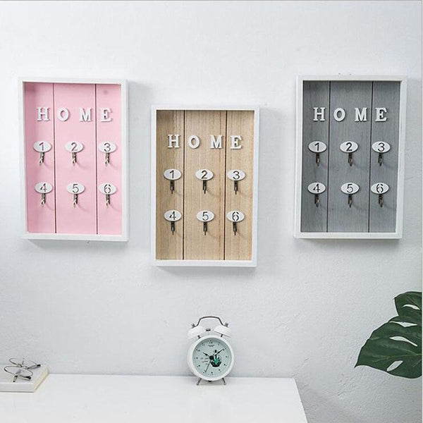 Colorful Key Box-Key Wall Organizer-20*3*30 cm - Wall Accessories - Timberack - timberack.com