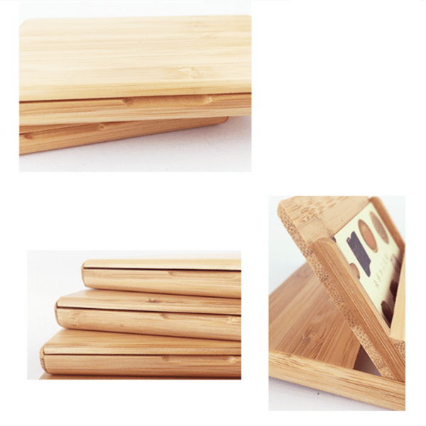 Bamboo Flat Keepsake Storage Box-Flat Item Keepsake Box-11*6.5*1 cm - Boxes - Timberack - timberack.com