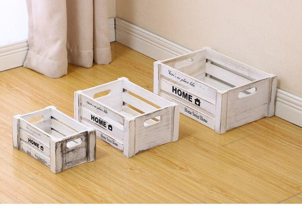 Retro Fruit Crate Storage Boxes-Nesting-15 Colors - Boxes - Timberack - timberack.com