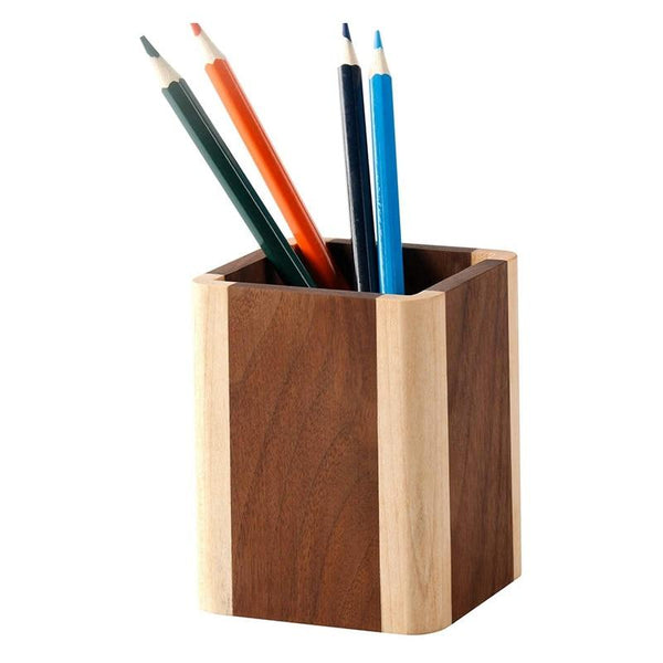 Desktop Pencil Cup-Pen Organizer Holder-7.8*7.8*9.5 cm - Desktop Accessories - Timberack - timberack.com