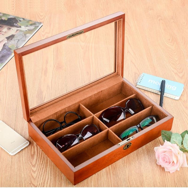 Sunglasses Keepsake Storage Box-Eyeglasses Display Box-35*7.8*2 cm - Boxes - Timberack - timberack.com