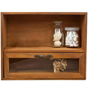 Wall Storage Cabinet-Curio Display-Decor Display Cabinet-30*12*24 cm - Cabinets - Timberack - timberack.com