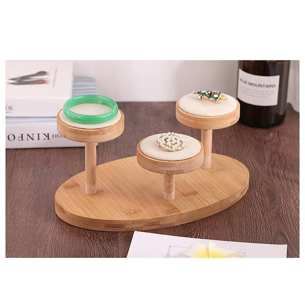 Jewelry Display Stand-Watch Platform Riser-29*18 cm - Stands - Timberack - timberack.com
