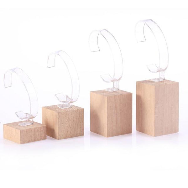 Watch Display Stand Set-Watch Organizer Stand Set-4 Sizes - Stands - Timberack - timberack.com