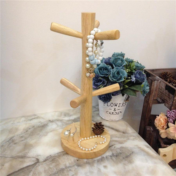 Jewelry Display Stand-Jewelry & Watch Organizer Tree-12.8*34.01 cm - Stands - Timberack - timberack.com