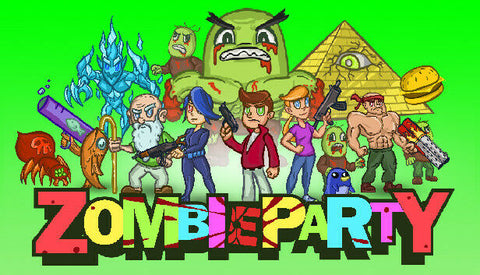 Zombie Party PC Digital STEAM KEY - Region Free - INSTANT DELIVERY 24/7 🔑🕹🎮