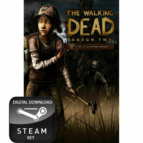THE WALKING DEAD SEASON TWO 2 PC & MAC STEAM KEY- INSTANT DELIVERY 24/7 🔑🕹🎮