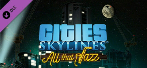 Cities: Skylines All That Jazz DLC PC/Mac Steam - INSTANT DELIVERY 24/7 🔑🕹🎮
