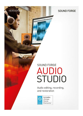 MAGIX SOUND FORGE AUDIO STUDIO 12 PC WINDOWS GENUINE LIFETIME DIGITAL KEY