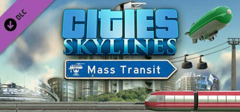 Cities: Skylines Mass Transit DLC PC MAC STEAM CD-KEY - INSTANT DELIVERY 24/7 🔑🕹🎮