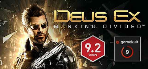 Deus Ex: Mankind Divided PC [Steam Key]  - INSTANT DELIVERY 24/7
