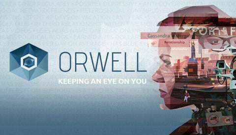 Orwell: Keeping an Eye on You PC Mac Linux Steam key - INSTANT DELIVERY 24/7