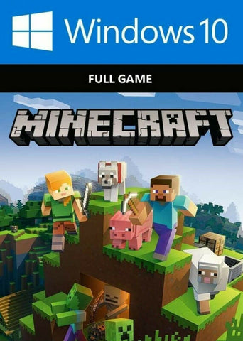 Minecraft Windows 10 Edition: Digital Code (PC) - INSTANT DELIVERY 24/7