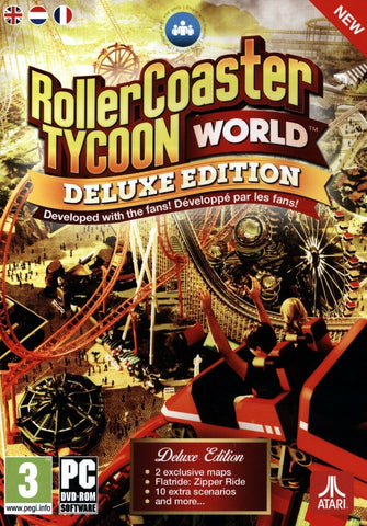 Rollercoaster Tycoon World Deluxe Edition STEAM KEY