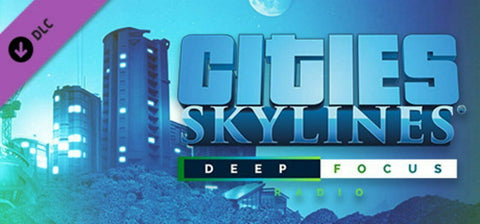 Cities Skylines Deep Focus Radio DLC PC, MAC Steam - INSTANT DELIVERY 24/7 🔑🕹🎮