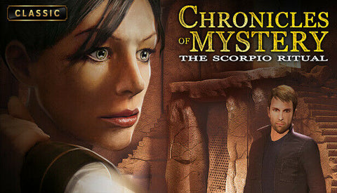 Chronicles of Mystery The Scorpio Ritual PC Game Steam CD Key