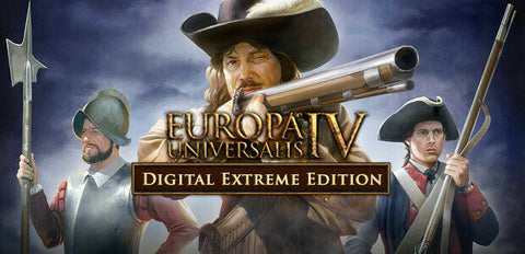 Europa Universalis IV Extreme Edition STEAM KEY PC & MAC - INSTANT DELIVERY 24/7
