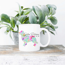 Load image into Gallery viewer, Dog Mum Floral Silhouette | Mug