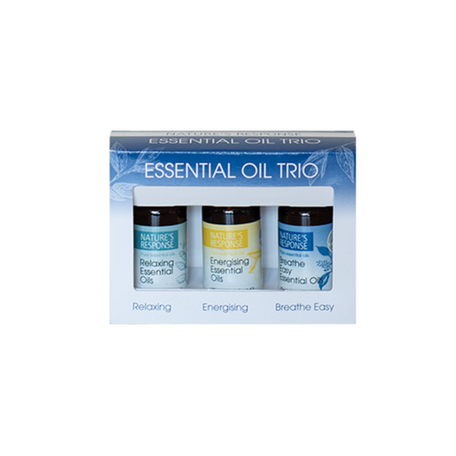 Nature's Response Essential Oil Blend Trio 10ml