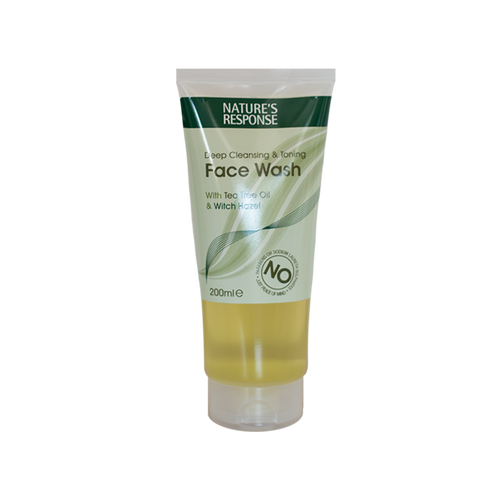 Nature's Response Face Wash with Tea Tree & Witch Hazel 200ml