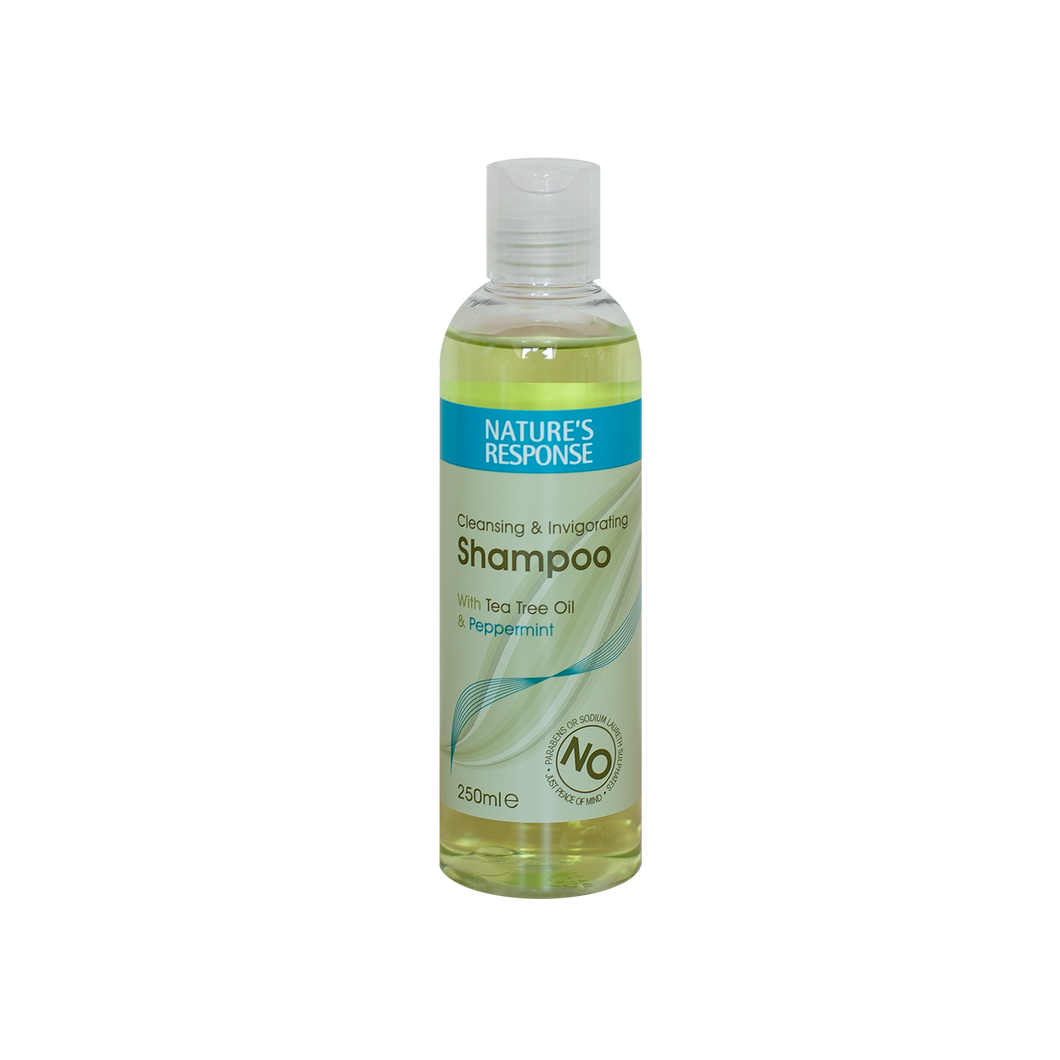 Nature's Response Shampoo with Tea Tree & Peppermint 250ml