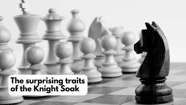The surprising traits of the Knight Soak - Unplugged Essentials