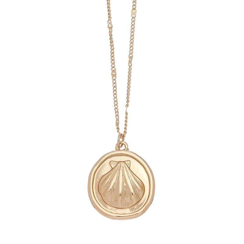Shell Coin Necklace