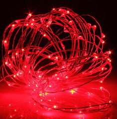 100-LED Seed Light (Copper) 10m - Red