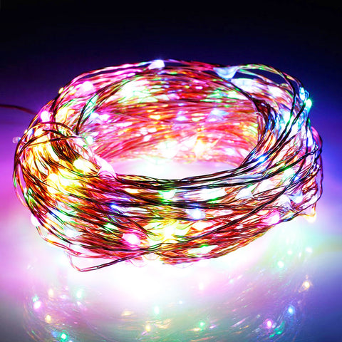 100-LED Seed Light (Copper) 10m - Multi Colour